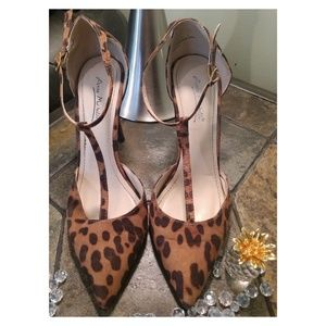 ANNE MICHELLE! Leopard Heels